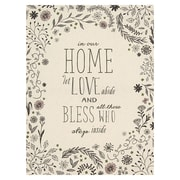 Click here to buy Stratton Home Decor Home and Blessings Textual Art.