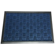 Rubber-Cal, Inc. Wellington  Doormat; Blue