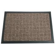 Rubber-Cal, Inc. Wellington Doormat; Brown