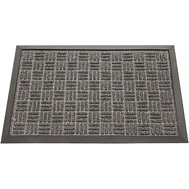 Rubber-Cal, Inc. Wellington Entrance Doormat; Charcoal