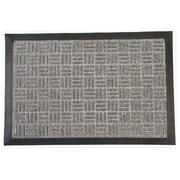 Rubber-Cal, Inc. Wellington Doormat; Gray