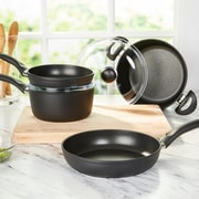 Ballarini Rialto Forged Aluminum 6 Piece Non-Stick Cookware Set