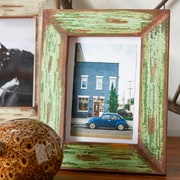 Creative Co-Op Distressed Wood Photo Frame (Set of 2)