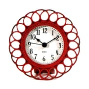Wilco Home Timberland Table Clock; Red