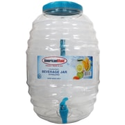 American Maid Plastic Honey Comb 640 Oz. Beverage Dispenser; Blue