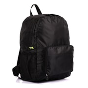 PACK N FOLD™ 50708 Foldable Lightweight Water-resistant Backpack, Black