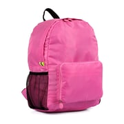 PACK N FOLD 50708 Foldable Lightweight Water-Resistant Backpack, Hotpink