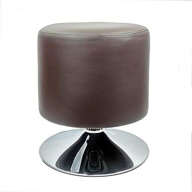 RetailPlus – Tabouret de bar contemporain Marfa, à hauteur standard, brun