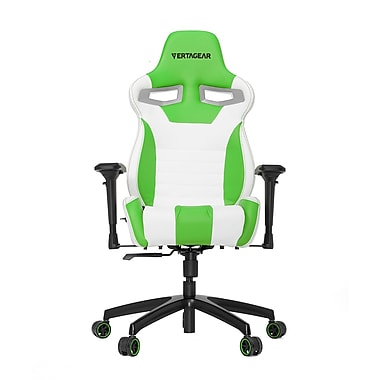 Vertagear VG-SL4000_WGR Racing S-Line Gaming Chair, White/Green