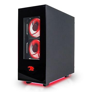 iBUYPOWER - PC de jeu CA002I Element, Core i7-7700, 3,6GHz, DD 1To + SSD 128 Go, DDR4 8Go, NVIDIA GeForce GTX 1070, Win10