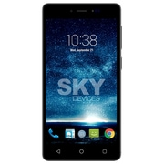 Staples SKY 5.0 Pro Unlocked Cell phone, 1.2 GHz Quad-Core, 16 GB, Dark Grey