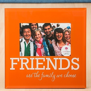 FashionCraft Glass Friends Picture Frame