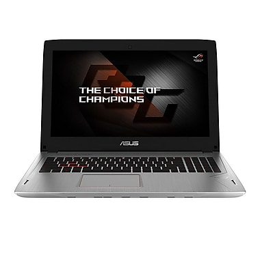 ASUS-Portatif de jeu GL502VM-DS74 ROG 15,6 po, Core i7-7700HQ, 2,8GHz, DD 1To + SSD 128Go, RAM16Go, GeForce GTX 1060, Win10