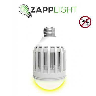 Zapplight Dual LED Lightbulb & Bug Light Zapper