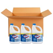 Clorox® Concentrated Germicidal Bleach, 121 oz. Bottles, 3 Bottles/Case