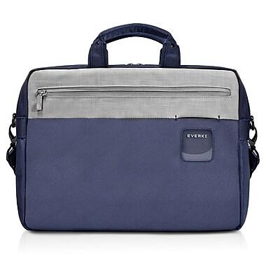 Everki – Mallette pour ordinateur portatif de 15,6 po pour navetteur, bleu marine