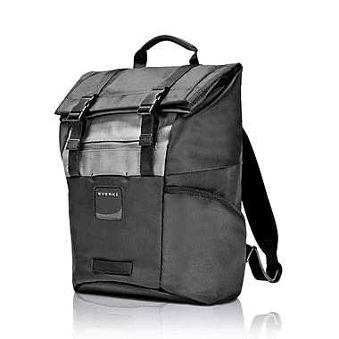 Everki – Sac à dos à haut pliable pour ordinateur portatif de 15,6 po, noir