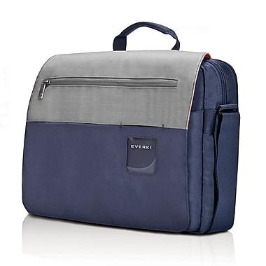 Everki – Sac à bandoulière pour ordinateur portatif de 14,1 po, bleu marine