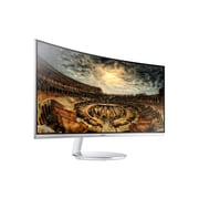 "Samsung 34"" Curved Widescreen Monitor, 3440 x 1440, Grey (C34F791WQN)"