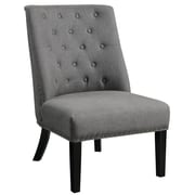 Alcott Hill Dawson Slipper Chair; Dark Gray