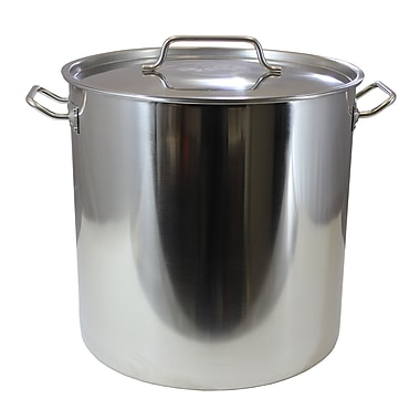 Concord Stock Pot w/ Lid; 60 Quart