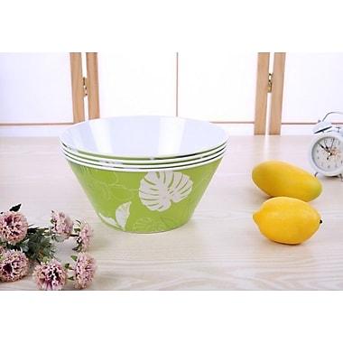 Shall Housewares 90 oz. Melamine Salad Bowl (Set of 4)