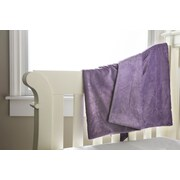 Berkshire Blanket Soft and Snug Baby Blanket; Smokey Purple