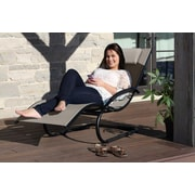 Vivere Hammocks Wave Chaise Lounge; Cocoa