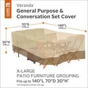 Classic Accessories Veranda Patio Furniture Set Cover; 30'' x 70'' x 140''