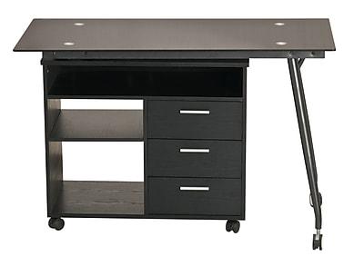 Inland ProHT Computer Desk; Black WYF078279339595