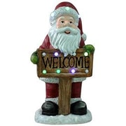 LB International Musical Santa Christmas Decoration
