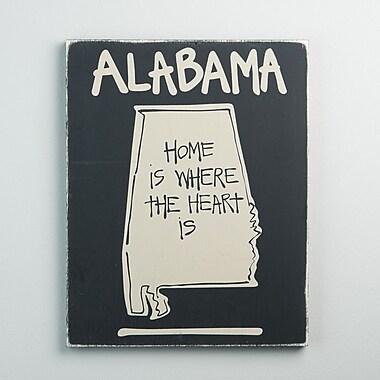 Glory Haus Alabama State Graphic Art