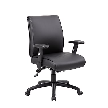 Boss Multi-Function Mid Back Executive Chair (B716-BK)