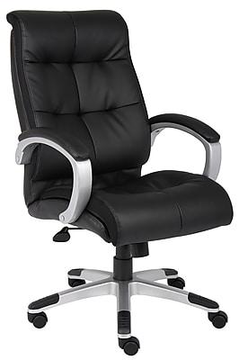 Boss Double Plush High Back Executive Chair (B8771S-BK)