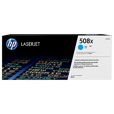 HP 508X (CF361X) Cyan High Yield Original LaserJet Toner Cartridge