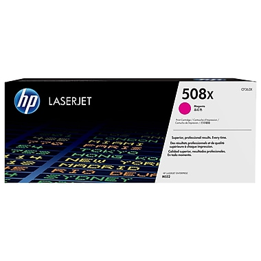HP 508X (CF363X) Cartouche de toner HP LaserJet noir magenta à rendement élevé d'origine