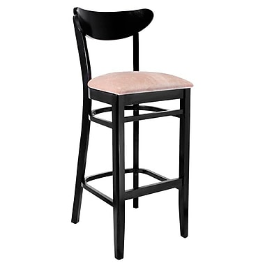 Benkel Seating 30'' Bar Stool; Black