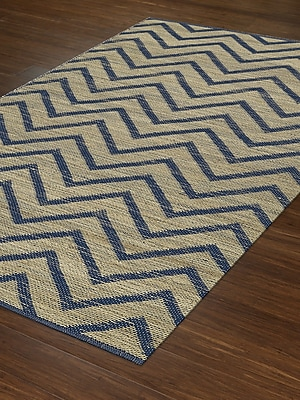 Dalyn Rug Co. Santiago Dalyn Navy Area Rug; Rectangle 3'6'' x 5'6''
