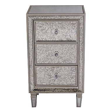 Heather Ann 3 Drawer Accent Chest