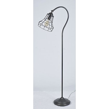 LampsPerSe 61.5'' Arched Floor Lamp