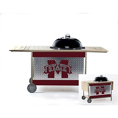 HensonMetalWorks NCAA Grill Stand; Mississippi State University