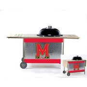 HensonMetalWorks NCAA Grill Stand; University of Maryland