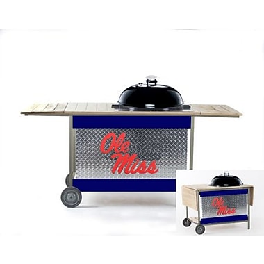 HensonMetalWorks NCAA Grill Stand; University of Mississippi
