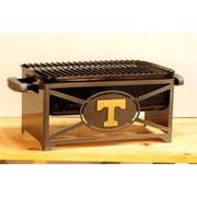 HensonMetalWorks NCAA Portable Tailgating Hibachi Grill Stand; University of Tennessee