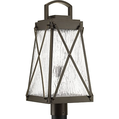 Gracie Oaks Keansburg 1-Light Lantern Head; Antique Bronze