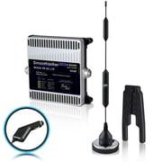 Smoothtalker – Ens d'amplific. signal téléphone de véhicule Mobile X6 50 dB 4G LTE extrême puiss., 6 bandes (BMCX650M14PC)
