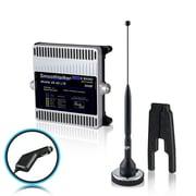 Smoothtalker – Ens. d'amplific. signal téléphone de véhicule Mobile X6 50 dB 4G LTE extrême puiss., 6 bandes (BMCX650M11PC)