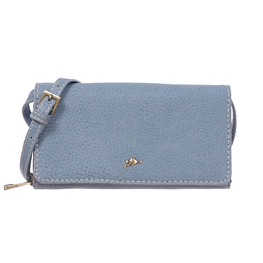 Roots 73 Wallet on a String, Sky Blue Combo