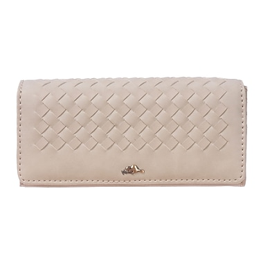 Roots 73 Expander Clutch Wallet, Sand