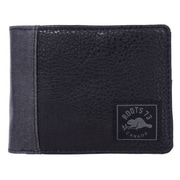 Roots 73 Slimfold Wallet with Removable ID, Black